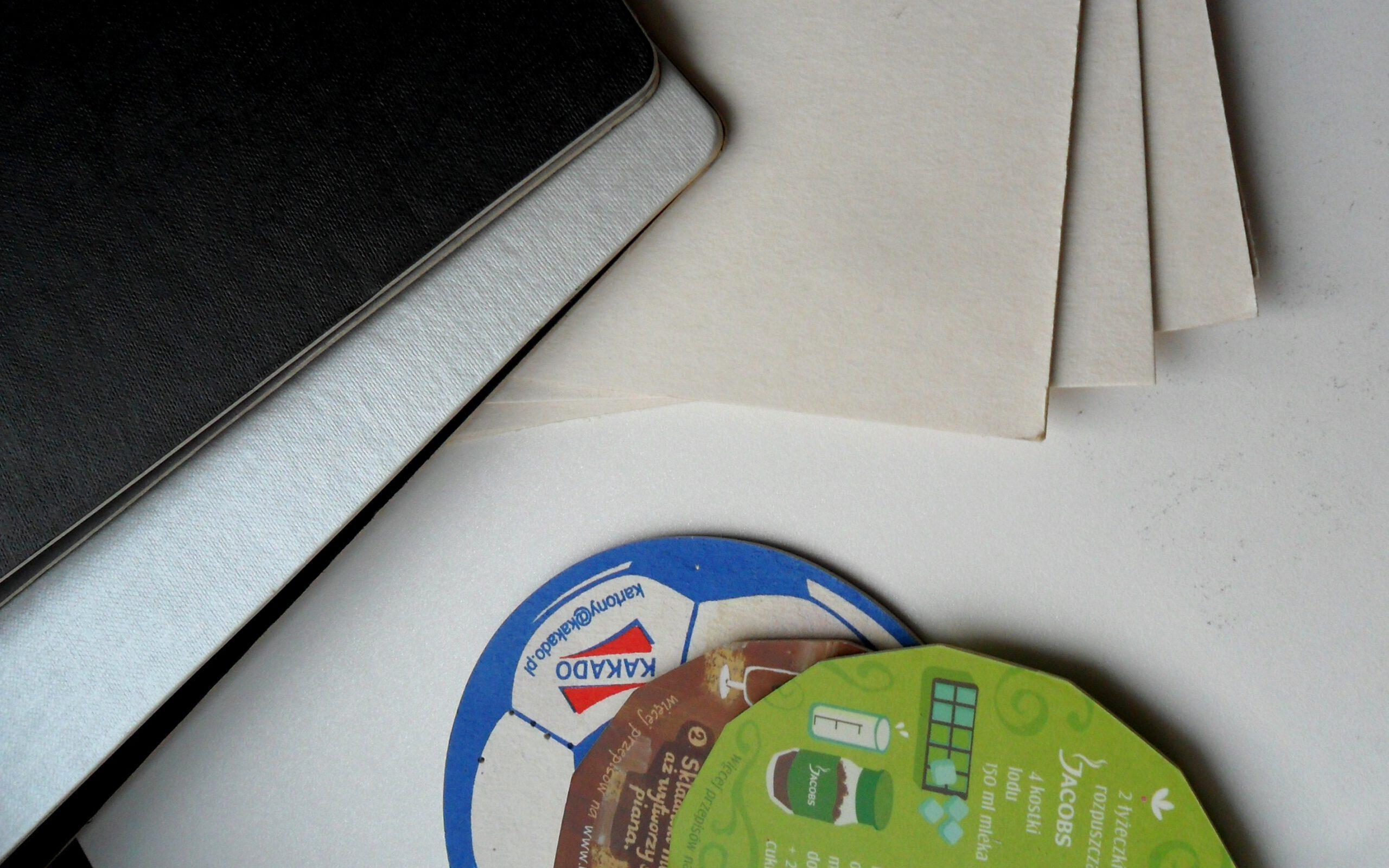 Beermat – karton na podkładki, albumy i odświeżacze