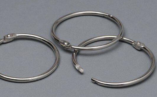 kółko zawieszkowe srebrne