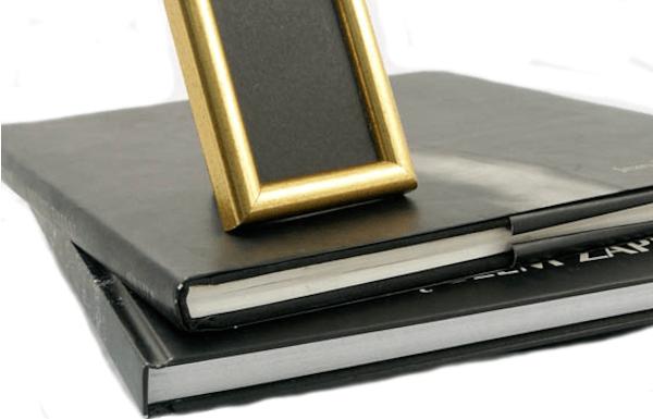 Baza albumów fotograficznych - czarny karton Nero