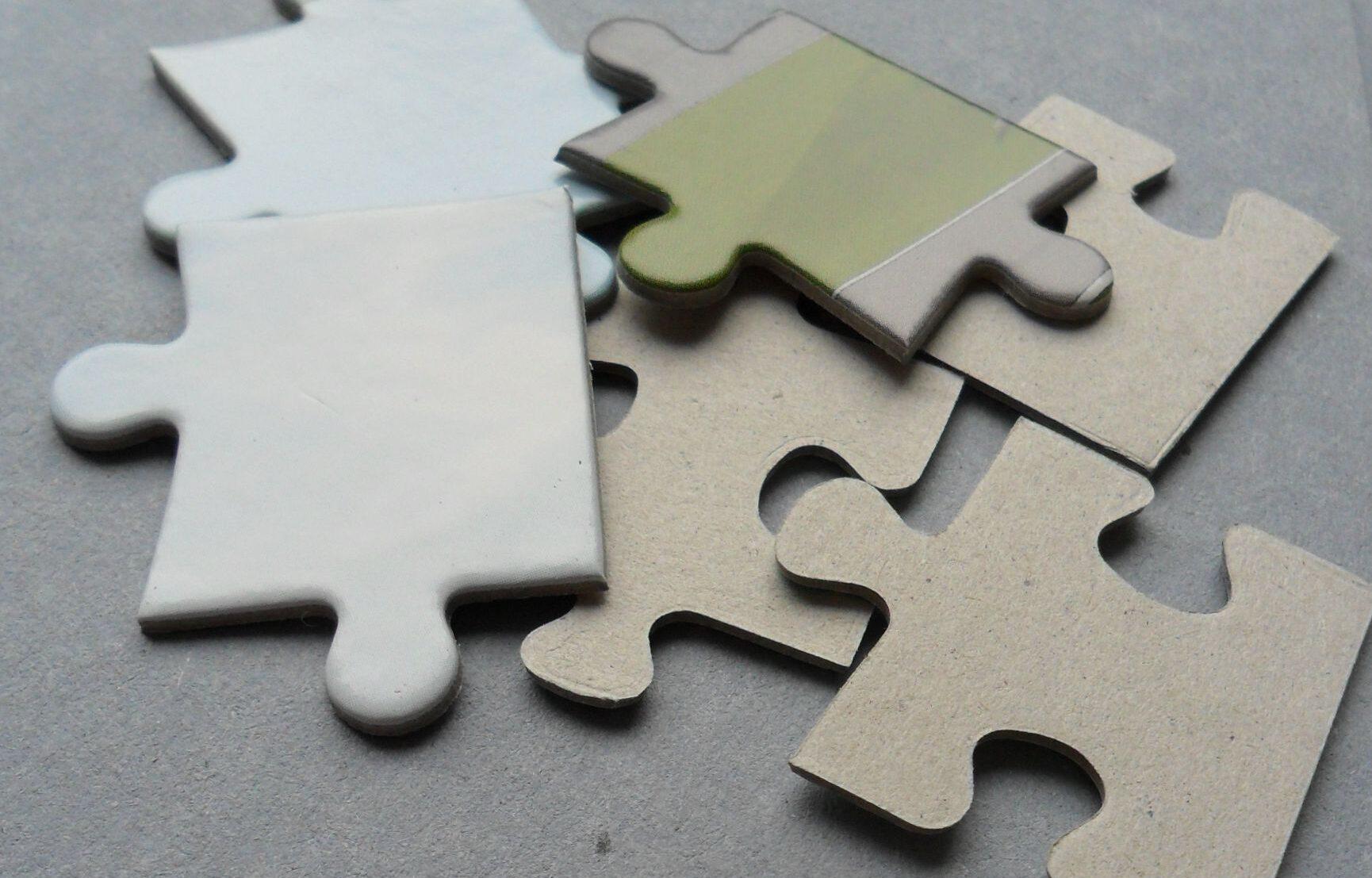 tektura puzzlowa