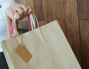 papier kraft brązowy torba